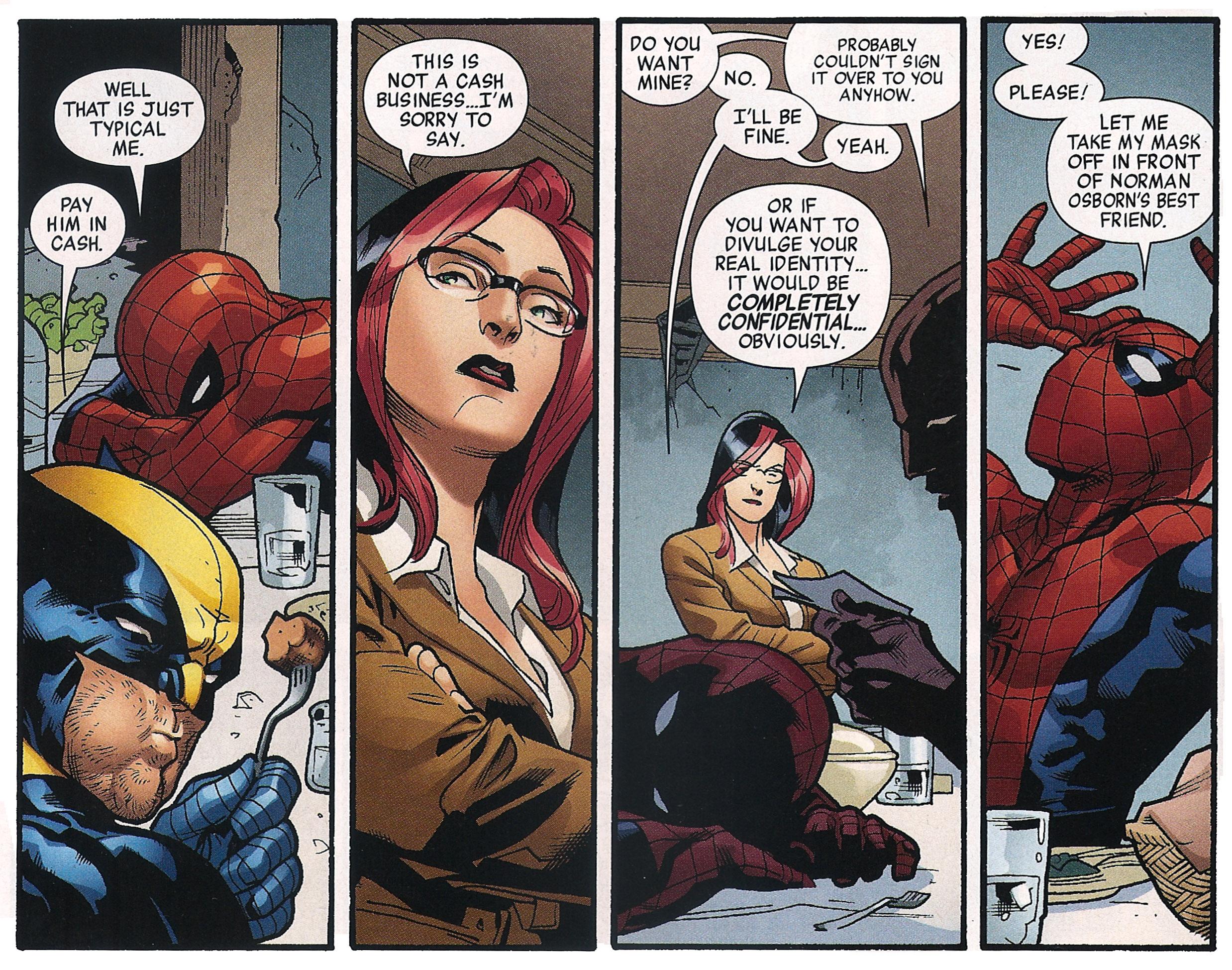 favourite funny spiderman moment   spider man   comic vine